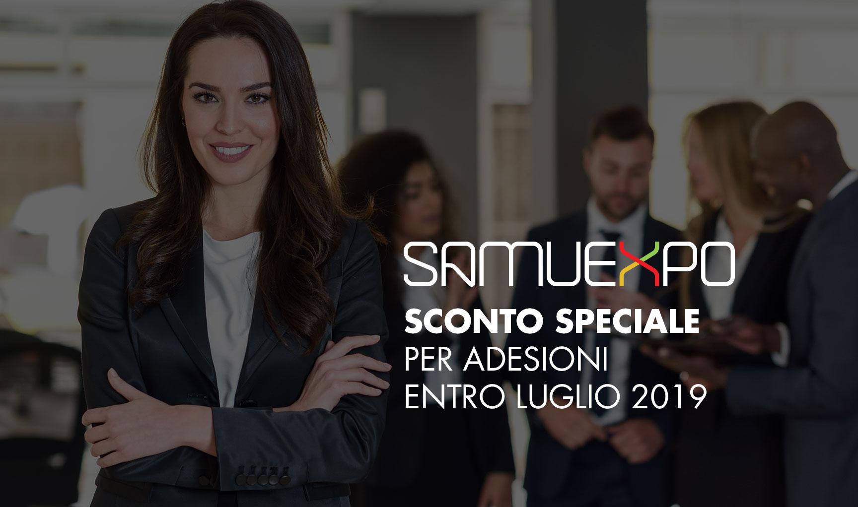 Sconto Speciale SamuExpo
